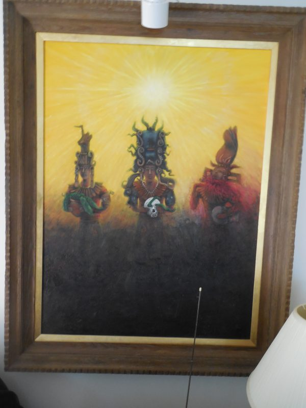 Shaman and clan, Original Portrait #1