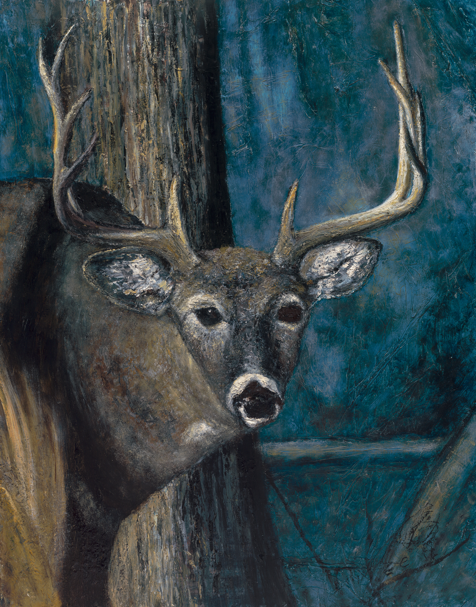 Ten Point Buck 21x27